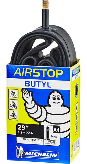 "Michelin Airstop A4 Slange 28-29"" Svart"